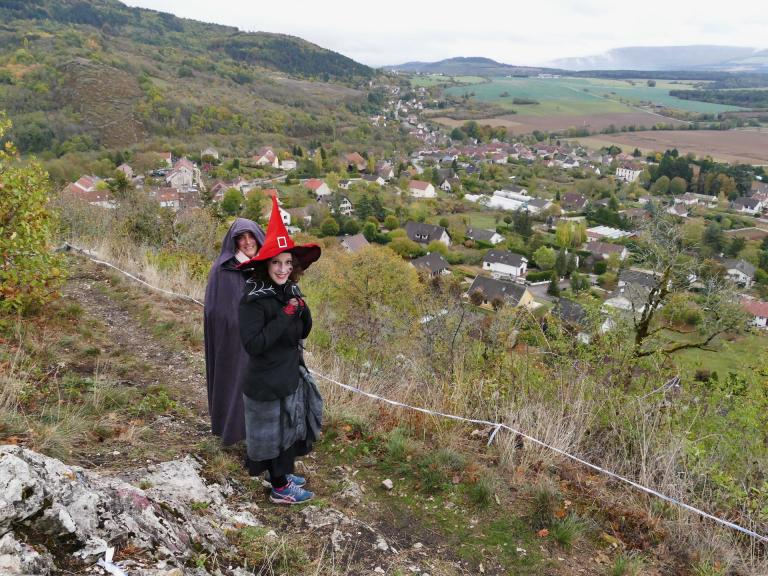 le trail des sorcières...à Mâlain